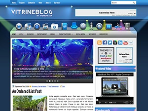 VitrineBlog WordPress blog theme