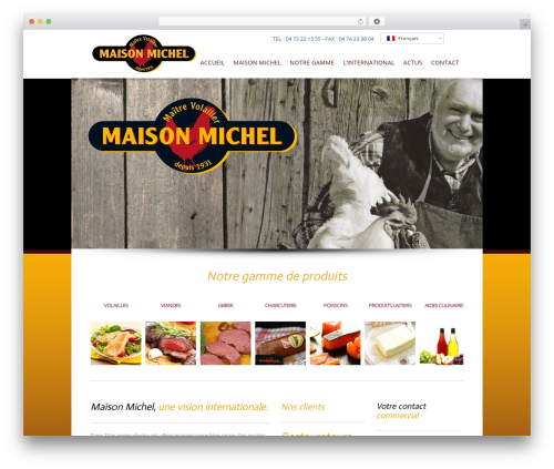 WordPress theme Valise - maisonmichel.eu