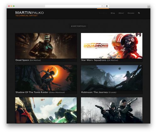 X WP template - martinpalko.com