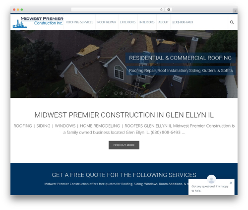 AccessPress Ray WordPress theme download - midwestpremierconstruction.com