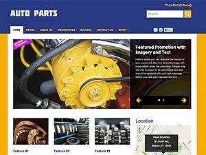 Auto Parts WP template