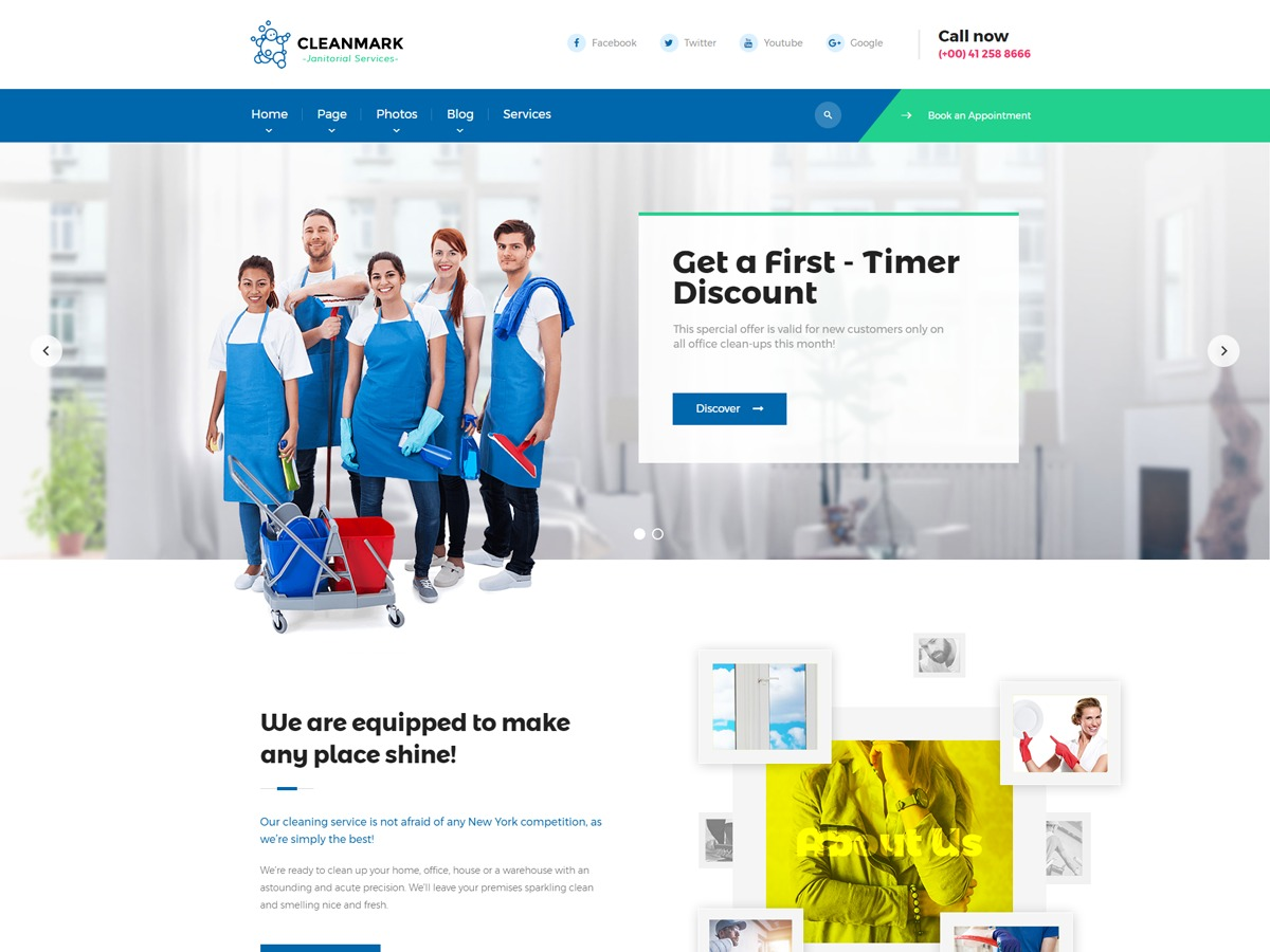 cleanmark WordPress ecommerce theme