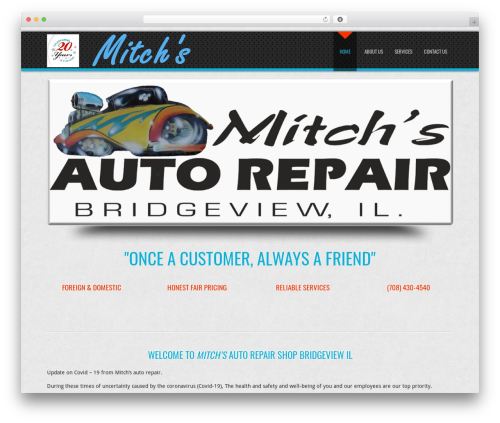D5 Business Line Extend WordPress theme - mitchsautorepair.com