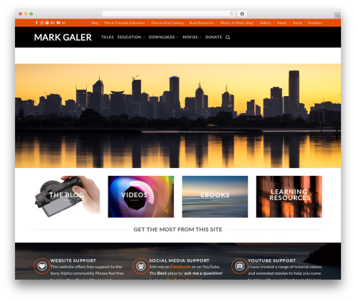Flatsome wallpapers WordPress theme - markgaler.com