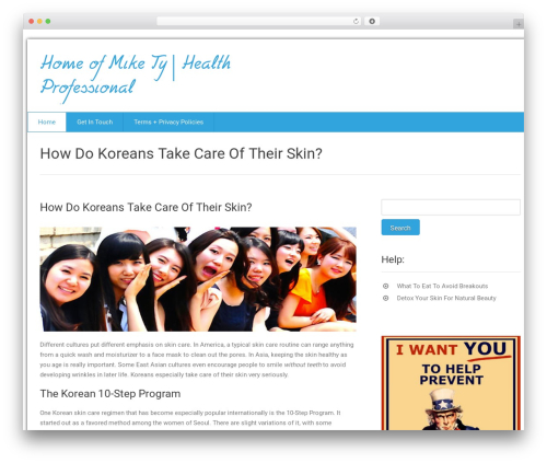 Health-Center-Lite WordPress template free download - mikety.net