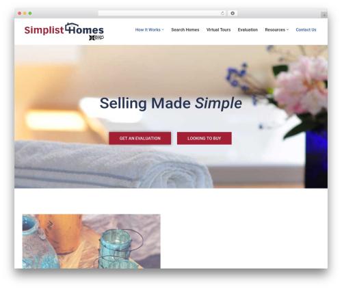 neve top WordPress theme - simplisthomes.com