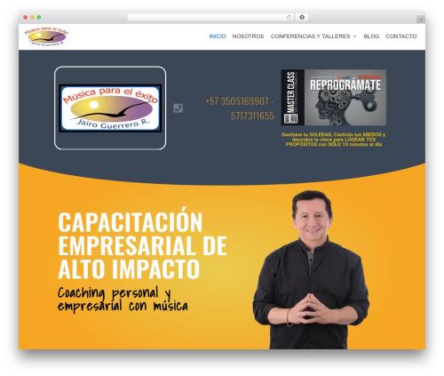 neve WordPress website template - musicaparaelexito.com