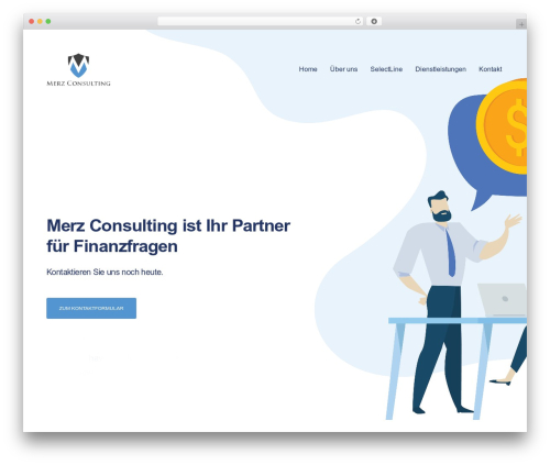 Revolution WP template - merz-consulting.ch