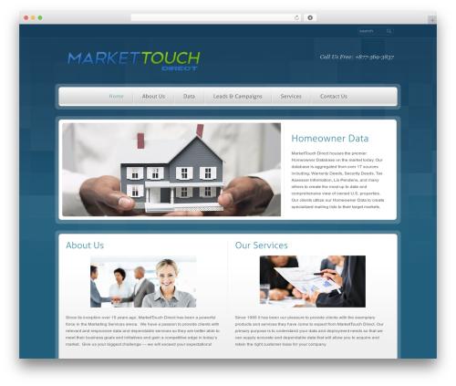RT-Theme 14 WordPress theme - markettouchdirect.com