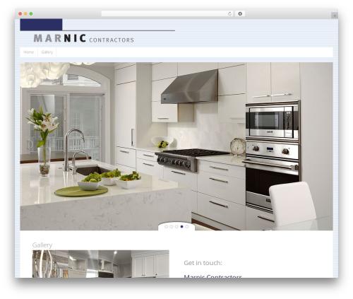 Tempera theme WordPress - marniccontractors.com