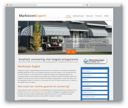 Template WordPress Megacorp - markiezen-expert.nl