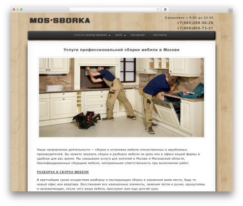 Twenty Eleven free website theme - mos-sborka.ru