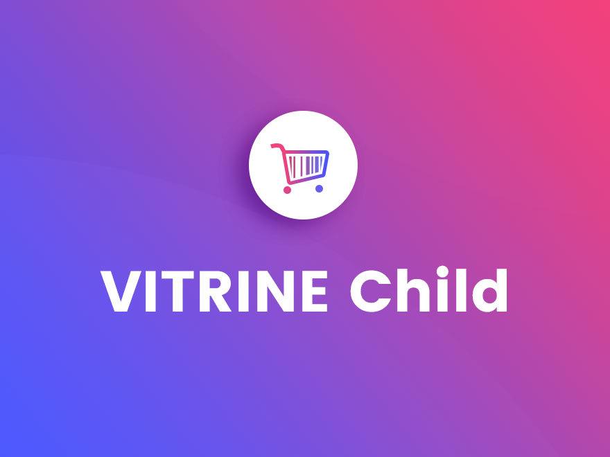 Vitrine Child WordPress shop theme