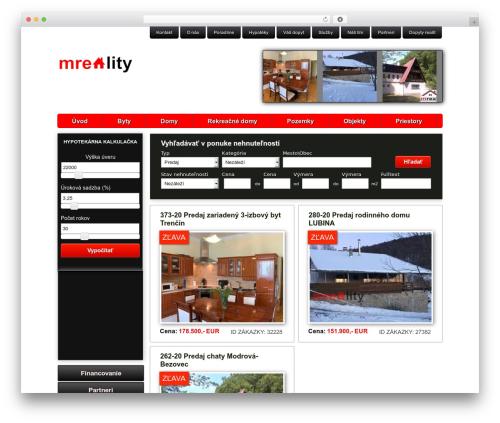 WP theme Oracle - mreality.sk