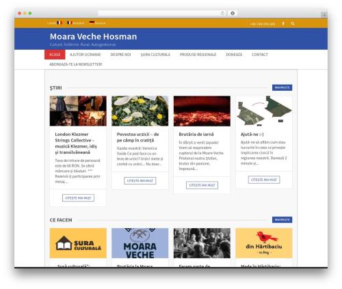 Benevolence Child Theme WordPress theme - moara-veche.ro
