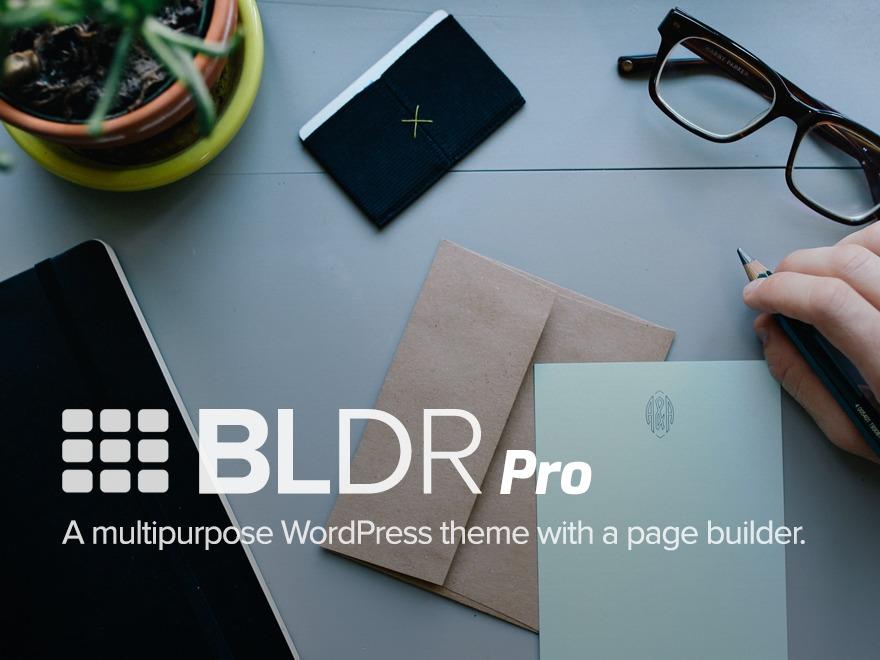 BLDR Pro Child WordPress website template
