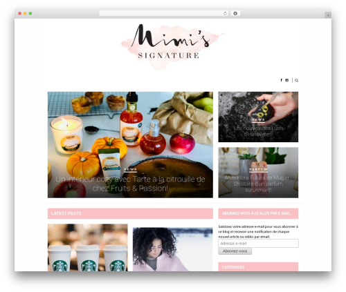 Hickory best WordPress template - mimisignature.com