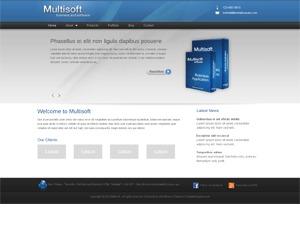Multisoft theme WordPress portfolio