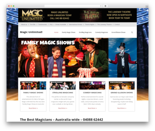 Free WordPress WP Power Stats plugin - magicunlimited.com.au
