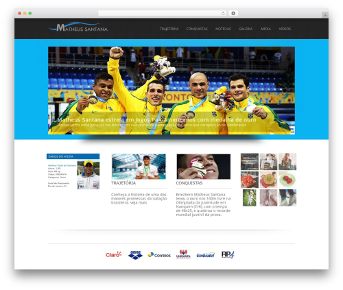 Simplicity Lite WordPress theme free download - matheussantana.com