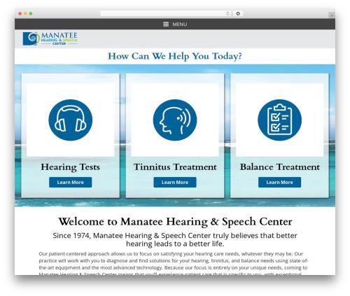 Theme WordPress Merriweather - manateehearing.com