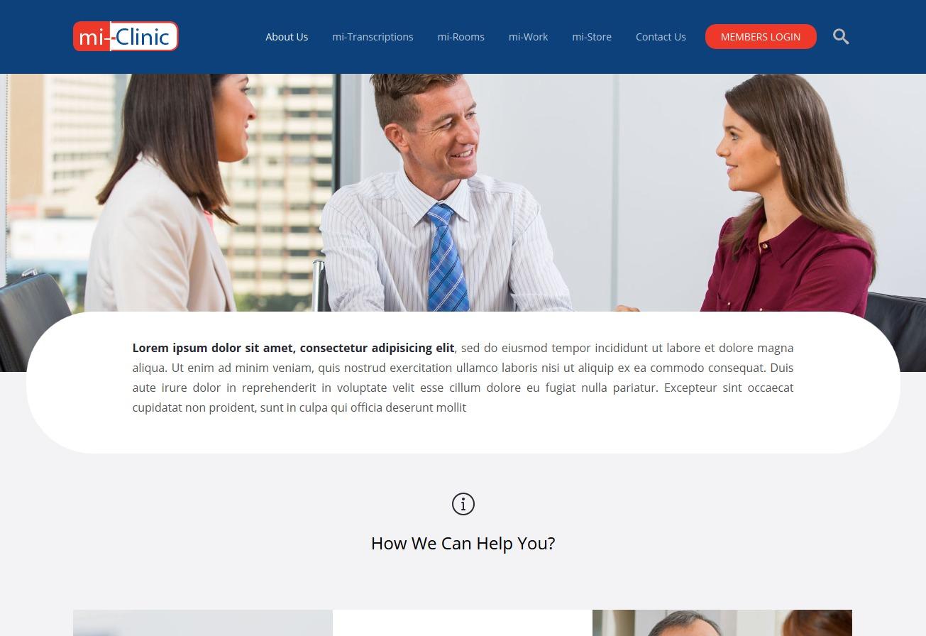 Theme WordPress mi Clinic Theme