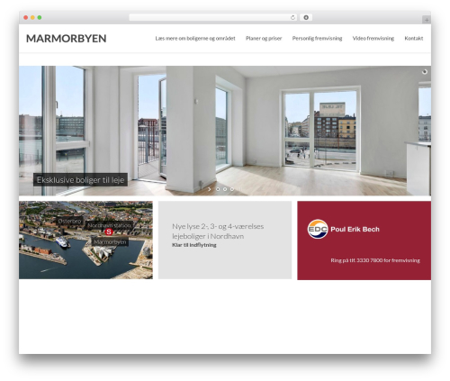 Theme WordPress Simple - marmorbyen.dk