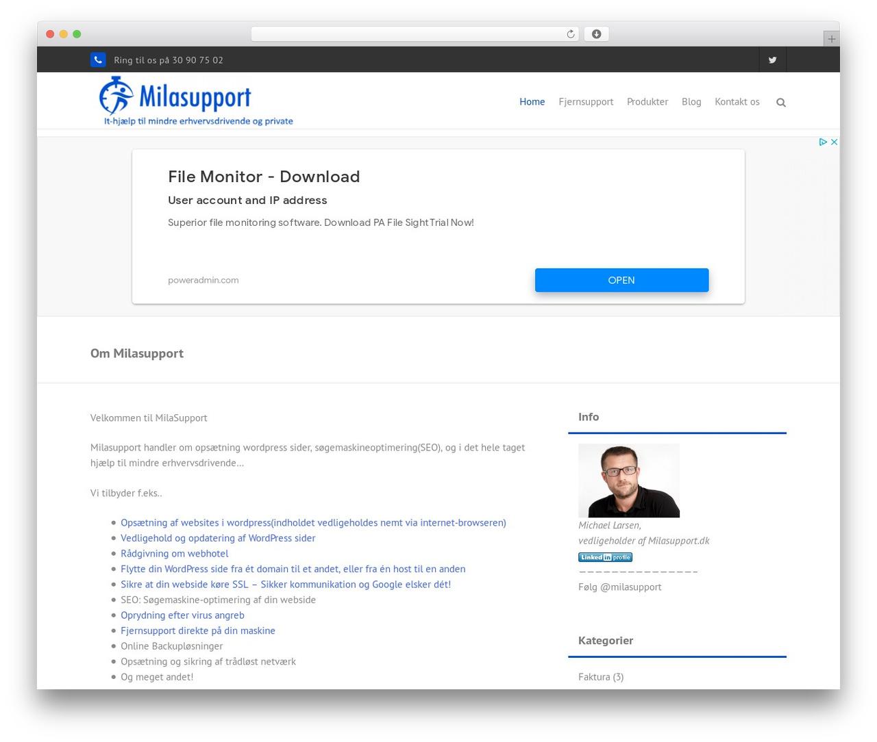 Theme WordPress THBusiness Pro - milasupport.dk