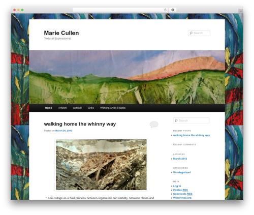 Twenty Eleven WordPress theme free download - mariecullen.com