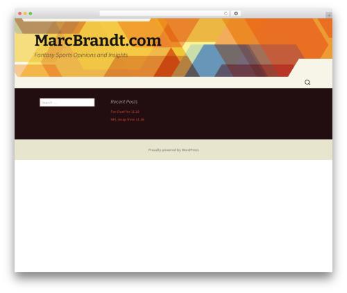Twenty Thirteen WordPress free download - marcbrandt.com