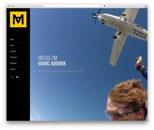 WordPress theme MeeTheme - marcabbink.nl
