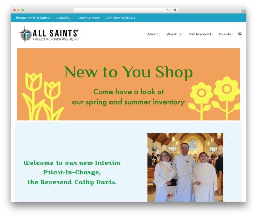 WordPress theme neve - allsaintswestboro.com