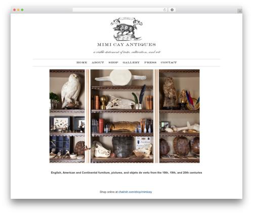WP template Argyll & Jasper Wordpress Theme - mimicay.com