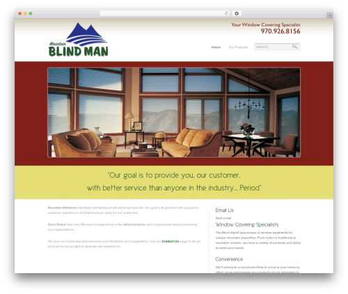 WP template Reflection - mountainblindman.com