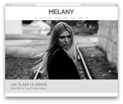 Free WordPress WordPress Picture / Portfolio / Media Gallery plugin - melany-officiel.com