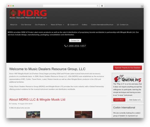 Gantry Theme for WordPress WordPress theme - mdrgusa.com