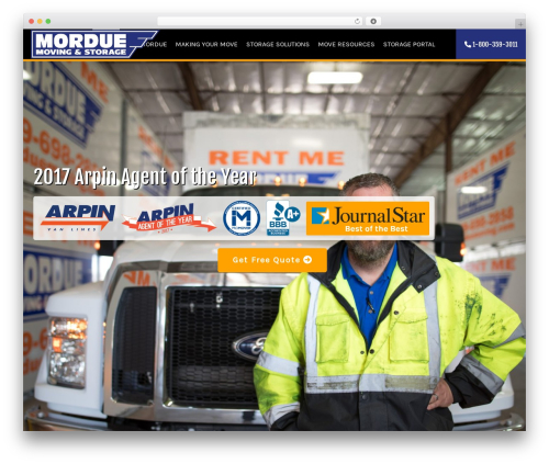 JOYN. business WordPress theme - morduemoving.com