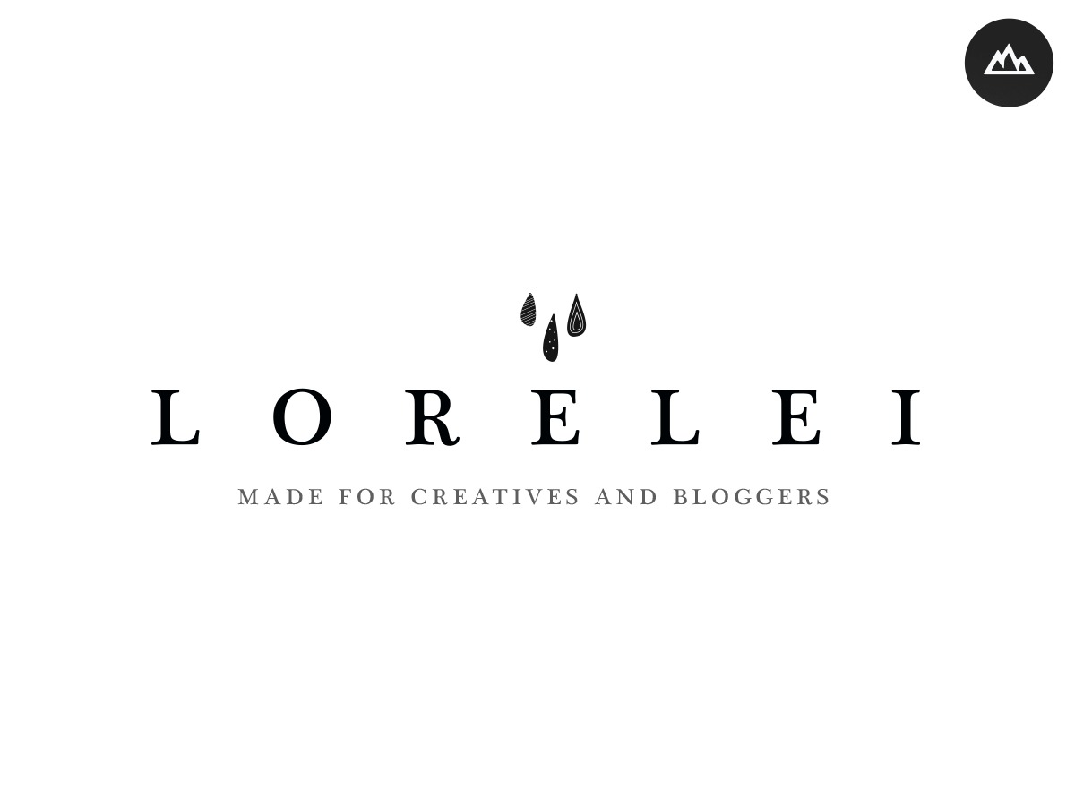 Lorelei WordPress blog theme