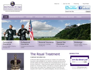 Monarch Excess WordPress template