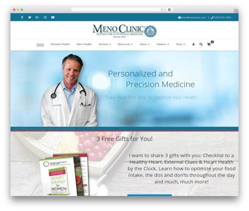 Free WordPress Auto Terms of Service and Privacy Policy (WP AutoTerms) plugin - menoclinic.com
