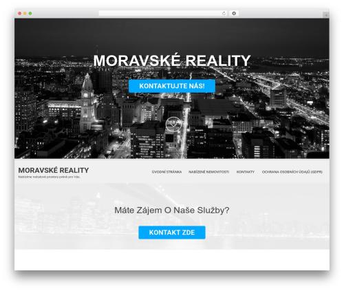 SKT White WordPress theme - moravskereality.eu