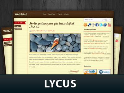Template WordPress Lycus