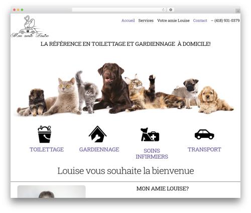 Theme WordPress Bonno - monamielouise.com