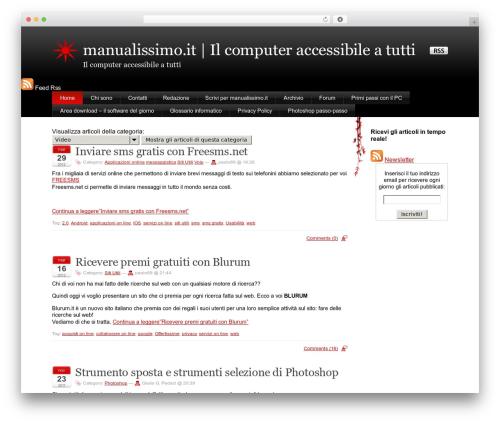 Theme WordPress Stardust - manualissimo.it