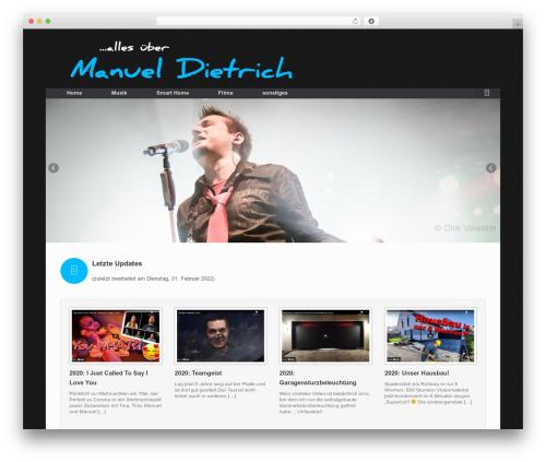 Vantage Premium template WordPress free - manueldietrich.de