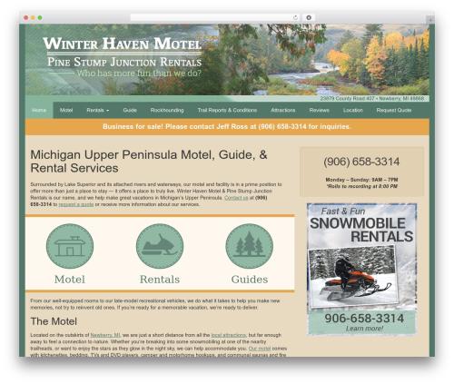 Free WordPress Weather Underground plugin - michigan-upper-peninsula.com
