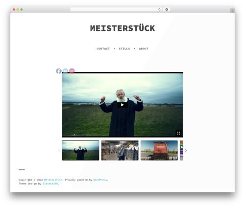 Atlantic free website theme - meisterstuck.dk