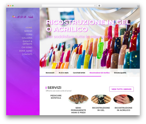 BeautySpot theme WordPress - mdrnails.it