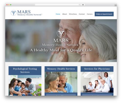 Divi WordPress website template - marsmemory.com