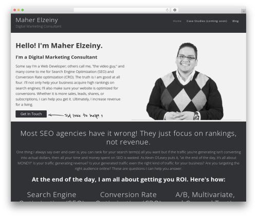 Epik WordPress theme - maherelzeiny.com